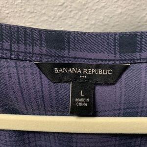 Banana Republic Tops - Banana Republic Short Sleeve Blouse
